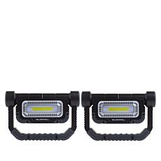 Bell + Howell 360 Cordless Multi-Positional Work Light 2-pack