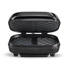 Bella 2 Burger Electric Grill - Black