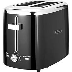 Bella Classics 2-slice Toaster - Black