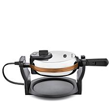 Bella Rotating Belgian Waffle Maker - Black & Copper