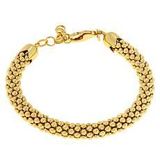 Bellezza Bronze Bold Coreana Popcorn Chain Bracelet
