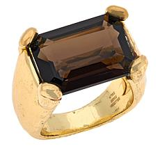 Bellezza Bronze Gemstone Hammered Ring