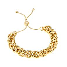 "Bellezza ""Vibia"" Byzantine-Link Adjustable Bracelet"