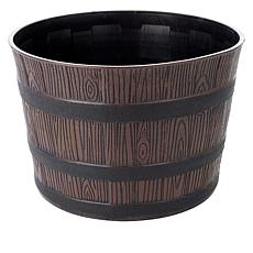 Belmont Garden Rustic Brown Barrel