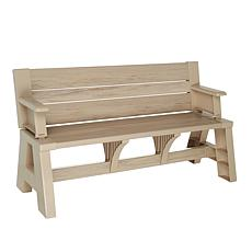 Wondrous Bench 2 Table Convert A Bench Evergreenethics Interior Chair Design Evergreenethicsorg