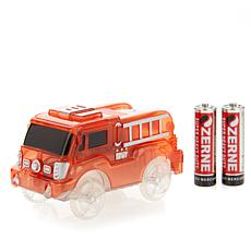 Bend A Path Light-Up Fire Truck with 2 AA Batteries