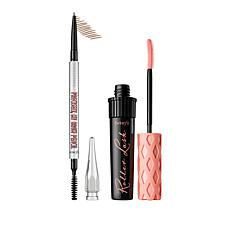 Benefit Cosmetics Roller Lash and Light Brown Precisely, My Brow Set
