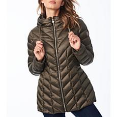 Bernardo EcoPlume Hooded Packable Jacket