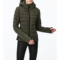 Bernardo EcoPlume Neoprene Combo Water-Resistant  Bib Jacket