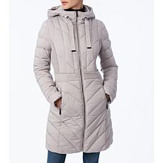 Bernardo EcoPlume Packable Hooded Walker Jacket