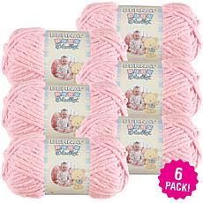 Bernat Baby Blanket Yarn 6-pack - Baby Pink