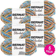 Bernat Blanket Yarn 6-pack - Cozy Cabin