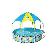 Bestway Steel Pro UV Careful Splash-in-Shade Round Pool Set