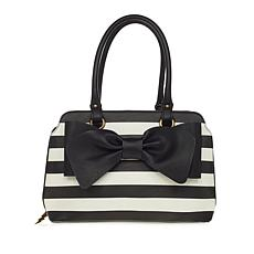 Betsey Johnson Pop Collar Bow Satchel