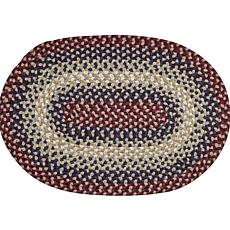 Better Trends Woodbridge Braided Accent Rug