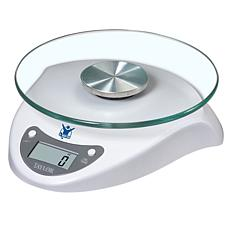 Biggest Loser Taylor White 6.5lb Digital Kitchen Scale