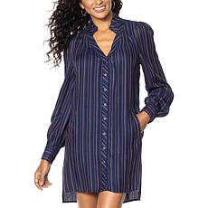 Billy T Lightweight Long Sleeve Tunic Dress