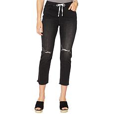 Billy T Summer Blues Drawstring Denim Pant