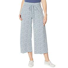 Billy T Wide Leg Drawstring Pant
