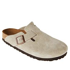 Birkenstock Boston Suede Clog with Soft Footbed