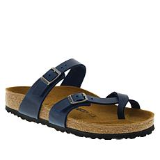 Birkenstock Mayari Leather Toe-Loop Comfort Sandal