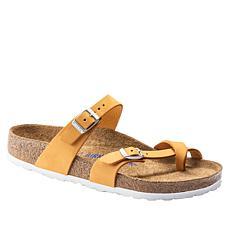 Birkenstock Mayari Soft Footbed Leather Sandal