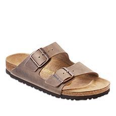 Birkenstock Men's Arizona Leather Soft Footbed Sandal