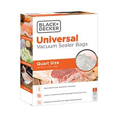 Black + Decker BD50BQ Quart-size pre-cut Vacuum Sealer Bags - 50-pack