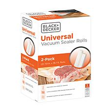 "Black + Decker Vacuum Sealer Rolls 7.9"" x 19.7' - 2-pack"