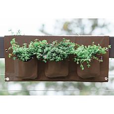 """BloemBagz 4.5-Gallon Deck Rail Planter Bag - 25"""""""