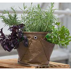 BloemBagz Mini Herb Planter Bag 1.5 Gallon