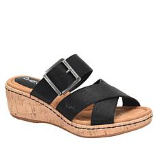 b.o.c. Kay Cork Wedge Slide Sandal