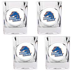 Boise State Broncos 4pc Shot Glass Set