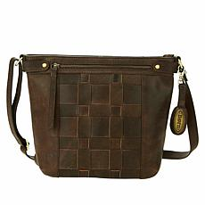 Born® Chambord Distressed Leather Crossbody Bag