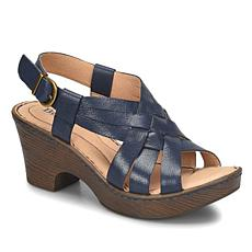 Born® Crevalle Woven Leather Platform Sandal