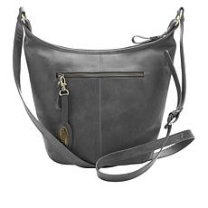 Born Distressed Leather Hobo