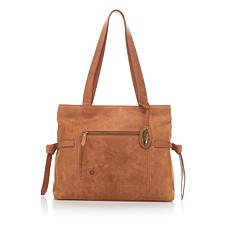 Born® Distressed Leather Tote