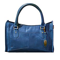 Born Leather Eva Satchel Handbag