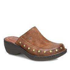 Born® Majesty Leather Studded Clog