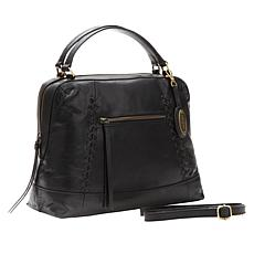 Born Mercer Leather Satchel
