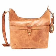Born® Primo Distressed Leather Crossbody