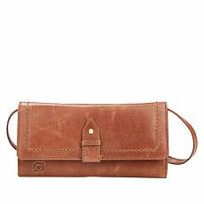 Born® Randall Distressed Leather Wallet/Crossbody Bag