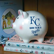 Born to be a Kansas City Royals Fan Piggy Bank