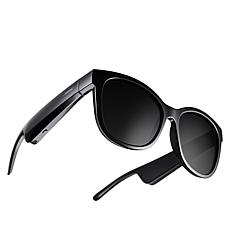 Bose Frames Soprano Cat Eye Polarized Audio Sunglasses with Carry Case