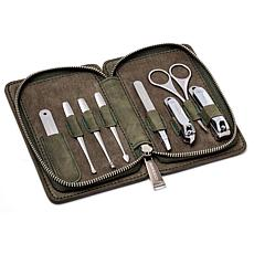 Breed Katana 8-Piece Surgical Steel Groom Kit - Green