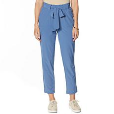 Brittany Humble Paperbag-Waist Pant