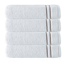 Broderie 100% Turkish Cotton 4-piece Hand Towel Set