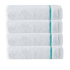 Broderie 100% Turkish Cotton 4-piece Wash Cloth Set