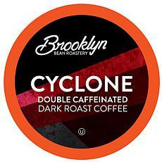 Brooklyn Beans Cyclone Double Caffeinated Coffee Pods 40-count