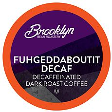 Brooklyn Beans Fuhgeddaboutit Decaf Coffee Pod for 2.0 Keurig 40-Count